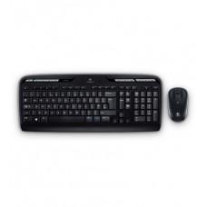 Комплект клавиатура + мышь Logitech MK330 Wireless USB Black (920-003995)
