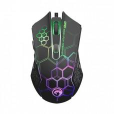 Комплект клавиатура + мышь Marvo КМ409 Combo 7colors-LED Black USB