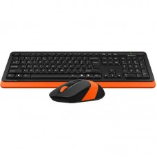 Комплект клавиатура + мышь Wireless A4Tech Bloody FG1010 Orange USB