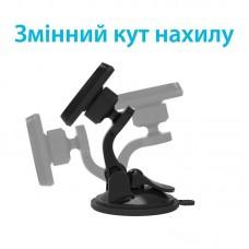 Автодержатель Grand-X Magnetic (крепление на панель или стекло) MT-04 Black