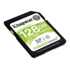 Карта памяти SDXC 128GB UHS-I Class 10 Kingston Canvas Select (SDS/128GB)