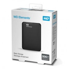 "Внешний жесткий диск HDD 2.5"" USB 3.0 500Gb WD Elements Portable Black (WDBUZG5000ABK-WESN)"