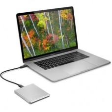 """Внешний жесткий диск HDD 2.5"""" USB-Type-C 1Tb LaCie Mobile Drive Silver (STHG1000400)"""