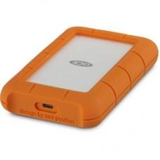 "Внешний жесткий диск HDD 2.5"" USB-Type-C 5Tb LaCie Rugged Orange (STFR5000800)"