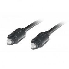 Кабель Audio Toslink-Toslink Optical REAL-EL 2m Black (EL123500037)