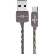 Кабель USB-Type-C Remax Regor 1m Tarnish Grey (RC-098A-TARNISH)