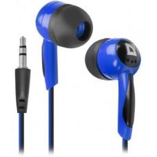 Наушники вакуумные Defender Basic-604 Blue (63608)