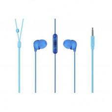 Наушники гарнитура вакуумные Philips SHE2405BL/00 Blue