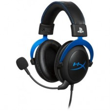 Наушники гарнитура накладные HyperX Cloud Gaming Headset for PS4 Black/Blue (HX-HSCLS-BL/EM)