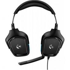 Наушники гарнитура накладные Logitech G432 Black (981-000770)