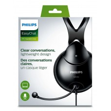 Наушники гарнитура накладные Philips Black SHM1900/00