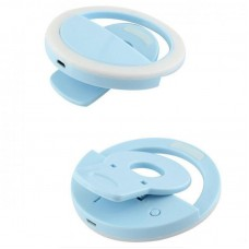 Кольцо для селфи SK LED Light RK12 Blue