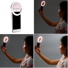 Кольцо для селфи SK LED Light RK12 Pink