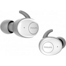 Наушники гарнитура вакуумные Bluetooth Philips SHB2515WT/10 White