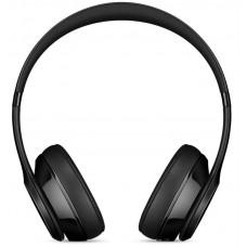 Наушники гарнитура накладные Bluetooth Beats Solo3 On-Ear Headphones Gloss Black (MNEN2)