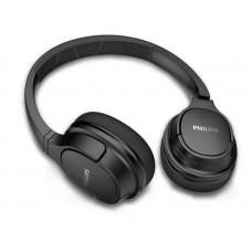 Наушники гарнитура накладные Bluetooth Philips TASH402BK/00 Black
