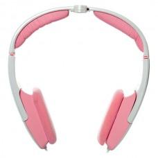 Наушники гарнитура накладные G-Cube GHR-108RI Royal Innocence White/Pink