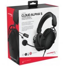 Наушники гарнитура накладные HyperX Cloud Alpha S Black (HX-HSCAS-BK/WW)