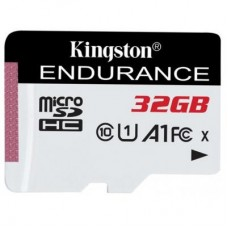 Карта памяти MicroSDHC 32GB UHS-I Class 10 Kingston High Endurance (SDCE/32GB)