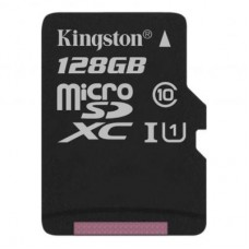 Карта памяти MicroSDXC 128GB UHS-I Class 10 Kingston Canvas Select Plus R100MB/s (SDCS2/128GBSP)
