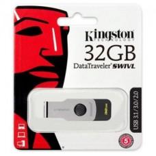 Флешка USB 3.1 32GB Kingston DataTraveler Swivl Black (DTSWIVL/32GB)