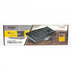 Комплект клавиатура + мышь Wireless A4Tech 6100F Black USB