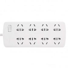Сетевой фильтр Pisen Power Strips 10A 8 розеток 1.8m White (pshb05)