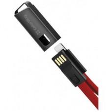 Кабель ColorWay USB-Lightning 2.4А 0.22m Red (CW-CBUL021-RD)