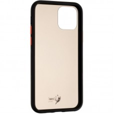 Чехол накладка PC 2 в 1 Krazi Matte Colorit для iPhone 7 8 Black/White