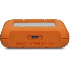 "Внешний жесткий диск HDD 2.5"" USB-Type-C 3.0 2Tb LaCie Rugged Orange/Silver (STFR2000800)"
