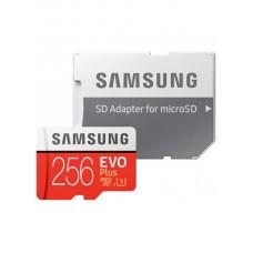 Карта памяти MicroSDXC 256GB UHS-I U3 Samsung Evo Plus R100/W90MB/s + SD Adapter (MB-MC256HA/RU)