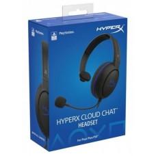 Наушники гарнитура накладные HyperX Cloud Chat for PS4 Black (HX-HSCCHS-BK/EM)