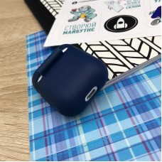 Чехол TPU MakeFuture для наушников Apple AirPods 1/2 Blue (MCL-AA1/2BL)