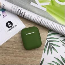 Чехол TPU MakeFuture для наушников Apple AirPods 1/2 Green (MCL-AA1/2GN)