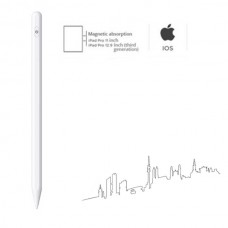Стилус для планшета Apple iPad 2018-2020 SK Active Magnetic P3 Pro 1.7mm White