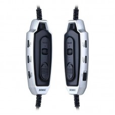 Наушники гарнитура накладные Somic E95x Black/Silver
