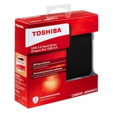 "Внешний жесткий диск HDD 2.5"" USB 3.0 4TB Toshiba Canvio Advance Black (HDTC940EK3CA)"