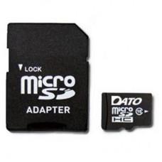 Карта памяти MicroSDHC 128GB UHS-I Dato + Adapter SD (DTTF128GUIC10)