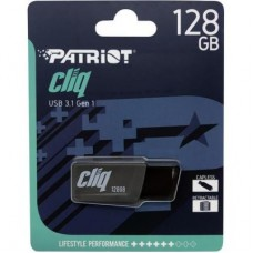 Флешка USB 3.1 128GB Patriot ST-Lifestyle Cliq Grey (PSF128GCL3USB)