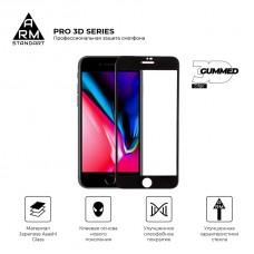 Защитное стекло ArmorStandart Pro 3D Full Glue для iPhone SE 2020 8 7 Black (ARM55364-GP3D-BK)