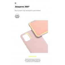 Чехол накладка TPU Armorstandart ICON для Samsung M21 M215 М30s M307 Pink/Sand (ARM56587)