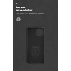 Чехол накладка TPU Armorstandart ICON для Samsung Note 10 Lite N770 Black (ARM56347)