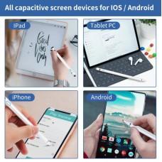 Стилус универсальный Goojodoq 2 в 1 Active 1 Gen Plus Android IOS до 2017 1.5mm Pink