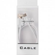 Кабель USB-Type-C Dengos 1m White (PLS-TC-WHITE)