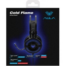 Наушники гарнитура накладные Aula Cold Flame Black (6948391235066)