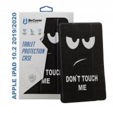 Чехол книжка PU BeCover Smart для Apple iPad 10.2 2019 Don`t Touch Me (704309)