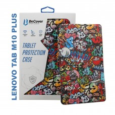 Чехол книжка PU BeCover Smart для Lenovo Tab M10 Plus TB-X606 Graffiti (705189)