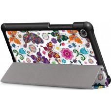 Чехол книжка PU BeCover Smart для Lenovo Tab M7 TB-7305 Butterfly (704713)