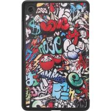 Чехол книжка PU BeCover Smart для Lenovo Tab M7 TB-7305 Graffiti (704715)