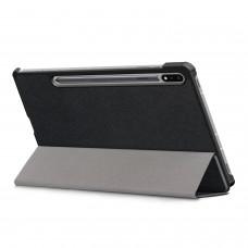 Чехол книжка PU BeCover Smart для Samsung Tab S7 T875 Black (705220)